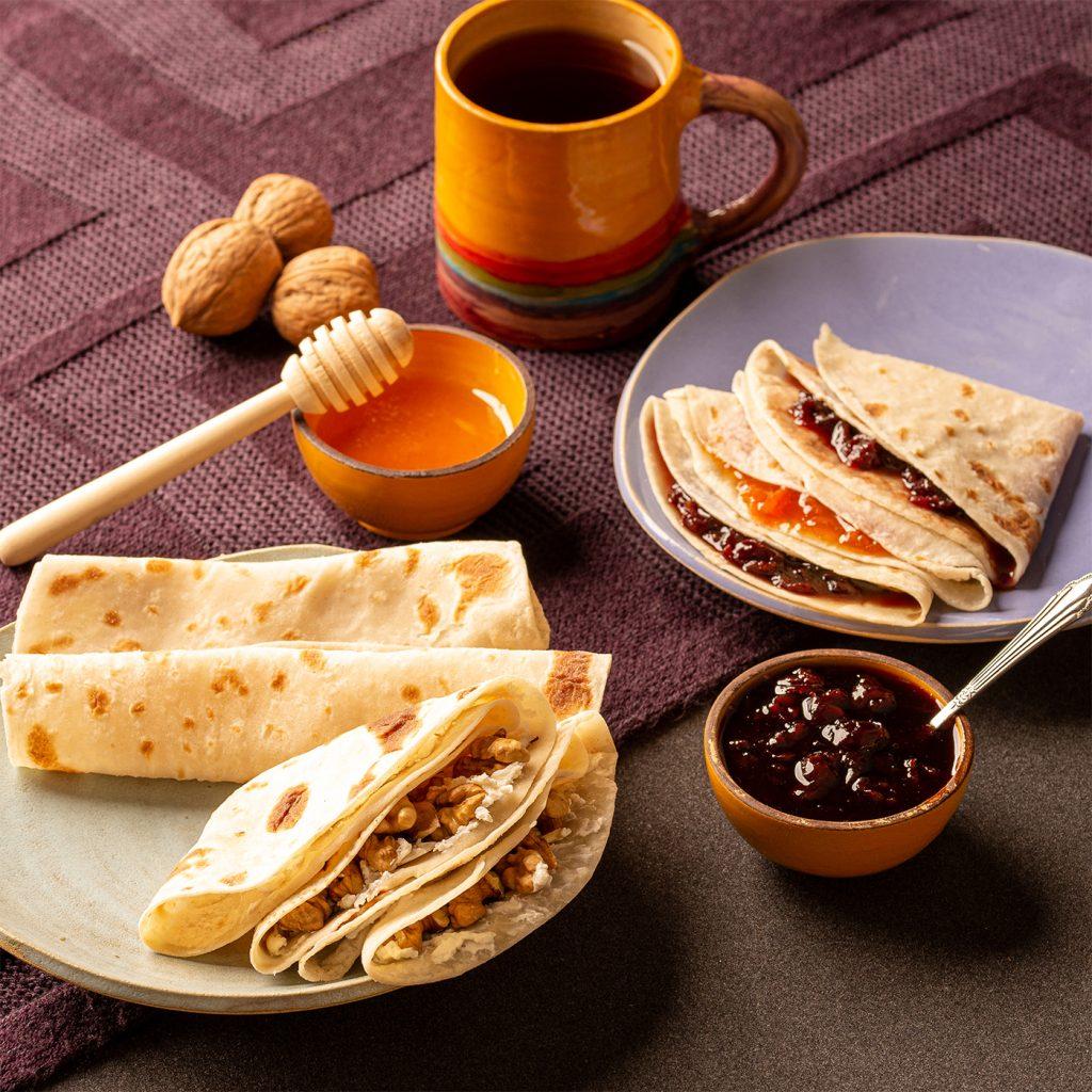 نان بدون گلوتن لاکو برای صبحانه بدون گلوتن