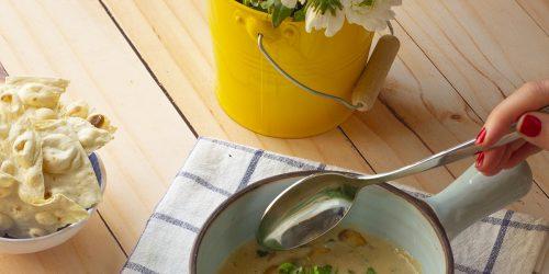 سوپ قارچ و مهیاوه